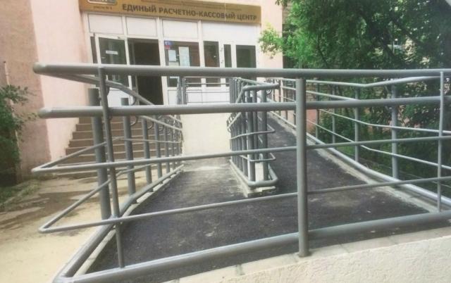 В ЕРКЦ не могли попасть инвалиды