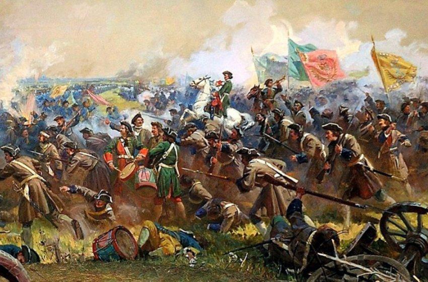 309 лет назад состоялось Полтавская битва