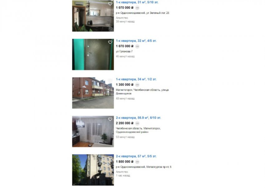 В Магнитке самое дешевое жильё