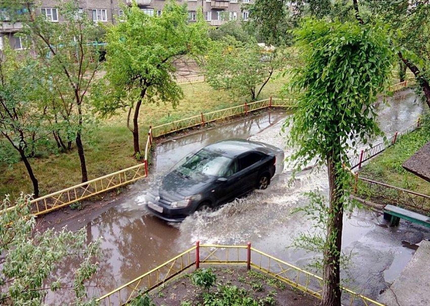 Челябинск затопило