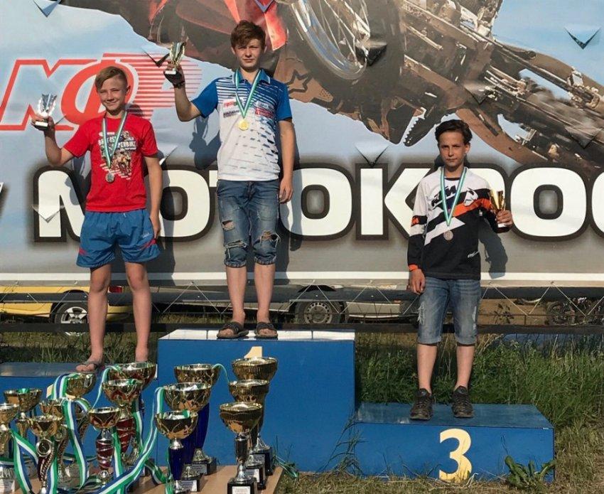 Мотокроссмены из Магнитогорска стали призёрами крупных соревнований