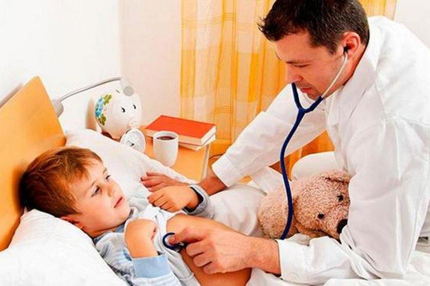 Ребёнок пострадал от кишечной инфекции