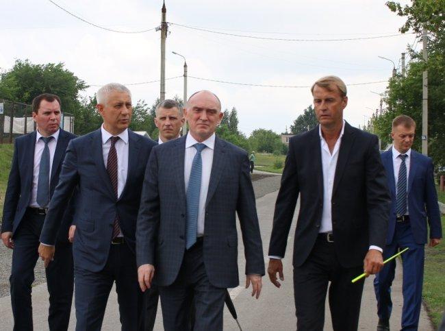 Борис Дубровский прогулялся в Экопарке