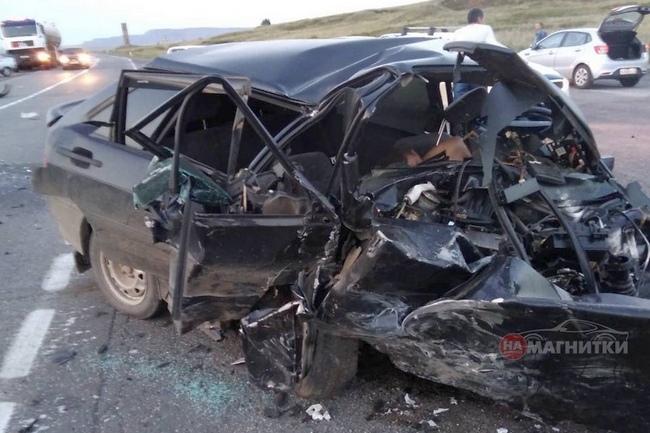 На дороге погибло три человека
