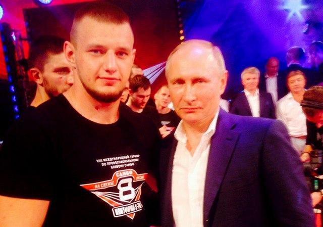 Магнитогорский боец пообщался с Владимиром Путиным