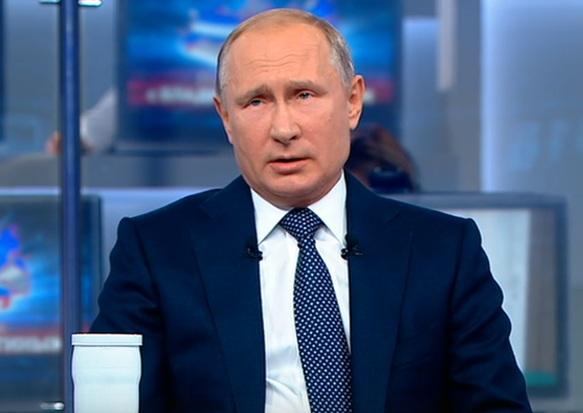 Владимир Путин говорит о пенсионной реформе