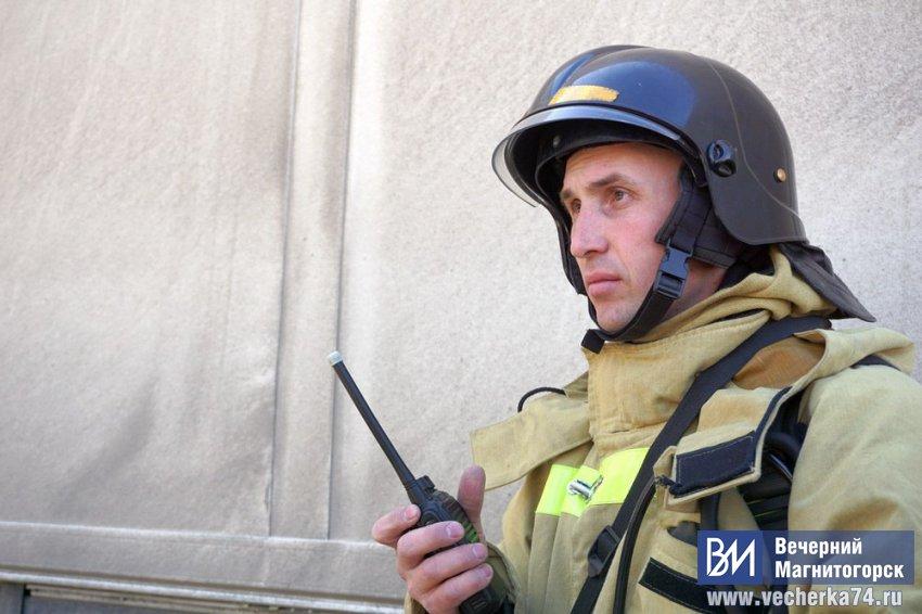 В Магнитогорске сгорела квартира