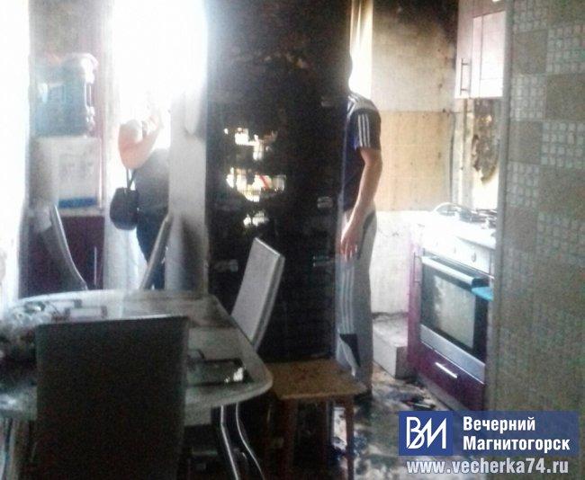 Гори всё ясным пламенем. Только дым «выкурил» жильцов из квартир