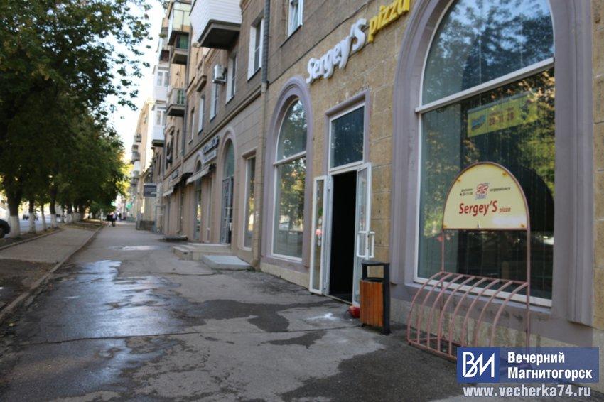 На проспекте Ленина горела пиццерия