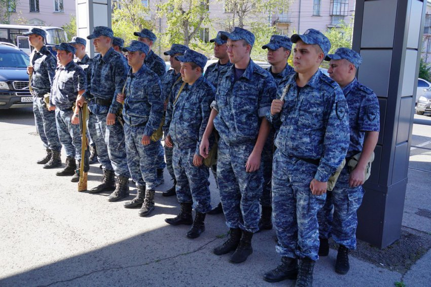Полицейские вернулись с Кавказа