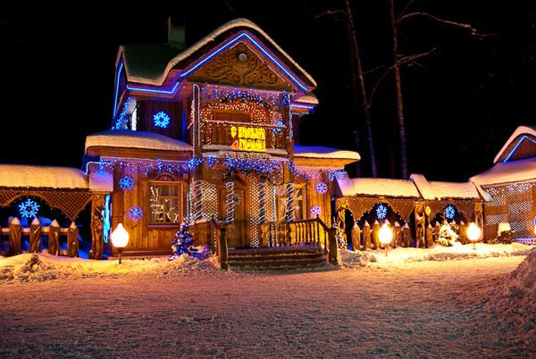 В сквере Бориса Ручьёва откроется резиденция Деда Мороза