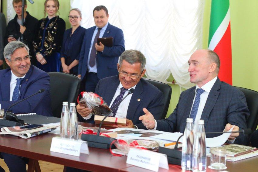 Президента Татарстана заманили магнитогорским пряником