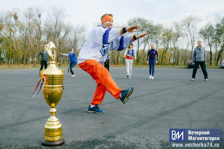 Почему Кубок Открытия оказался в парке?