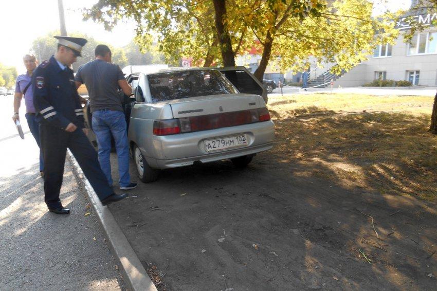 За неправильную парковку полагается штраф!