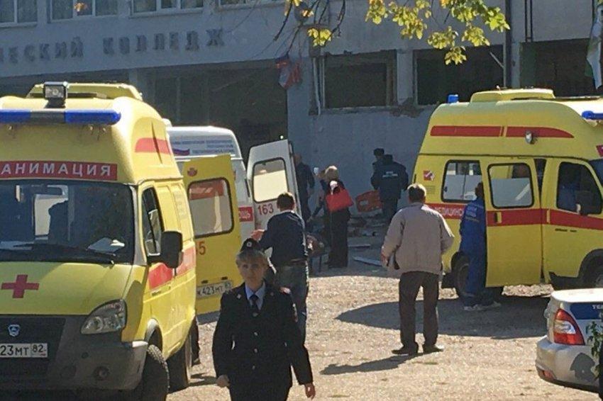 Сегодня днём в политехническом колледже Керчи произошёл взрыв