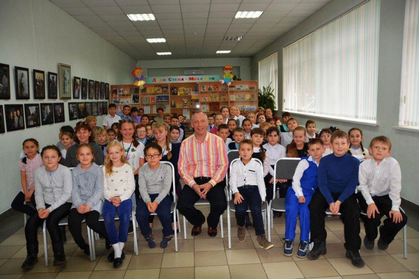 «Папа Смешариков» побывал в Магнитогорске