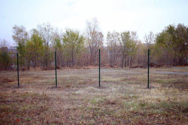 Забор и пустота