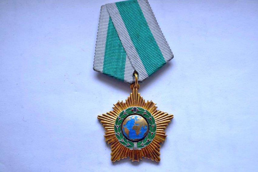 Награда губернатору