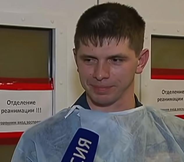 Спасатели пришли навестить Ваню Фокина