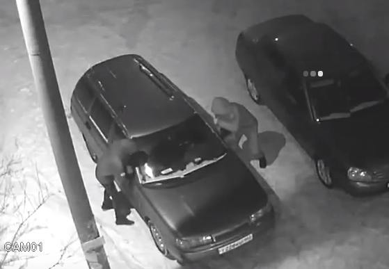 С машины украли зеркала