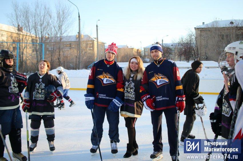 Хоккей в нашем городе начал развиваться