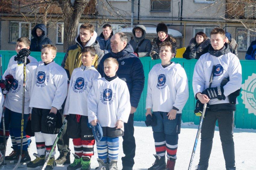 Юные звёздочки хоккея