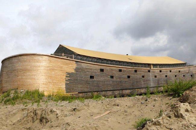 Ноев ковчег построили наши?