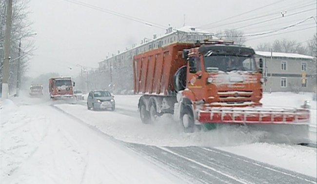 На Калинина будут чистить снег