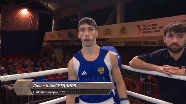 Магнитогорский боксёр едет на Чемпионат страны
