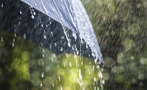 Дождик бьёт в окно