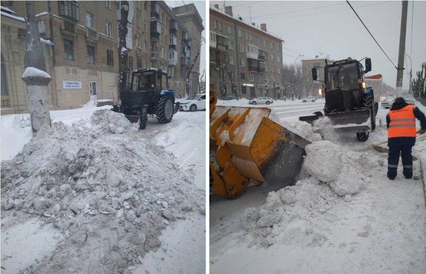 Более 18 тысяч кубометров снега за неделю