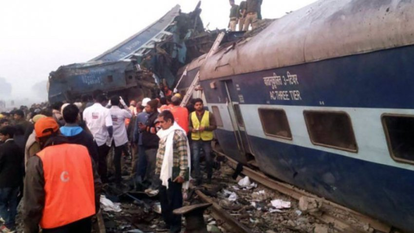 В Конго с рельсов сошёл поезд с пассажирами