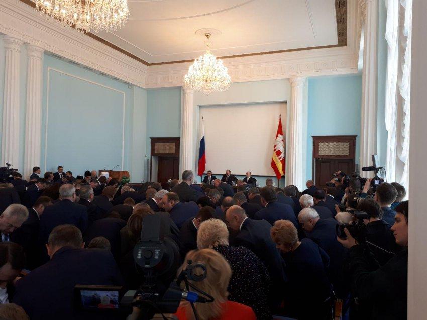 Алексей Текслер принял регион от Дубровского