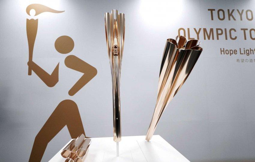 Представлен олимпийский факел Олимпиады в Японии