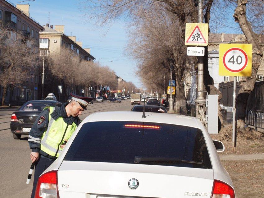 ГИБДД следит за водителями с детьми