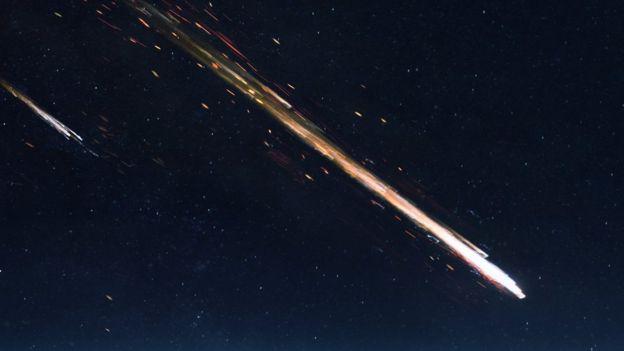 Огромный метеорит пролетел в Нижегородской области