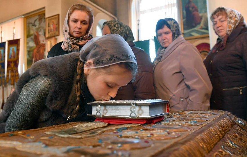 Православные встречают Благовещение