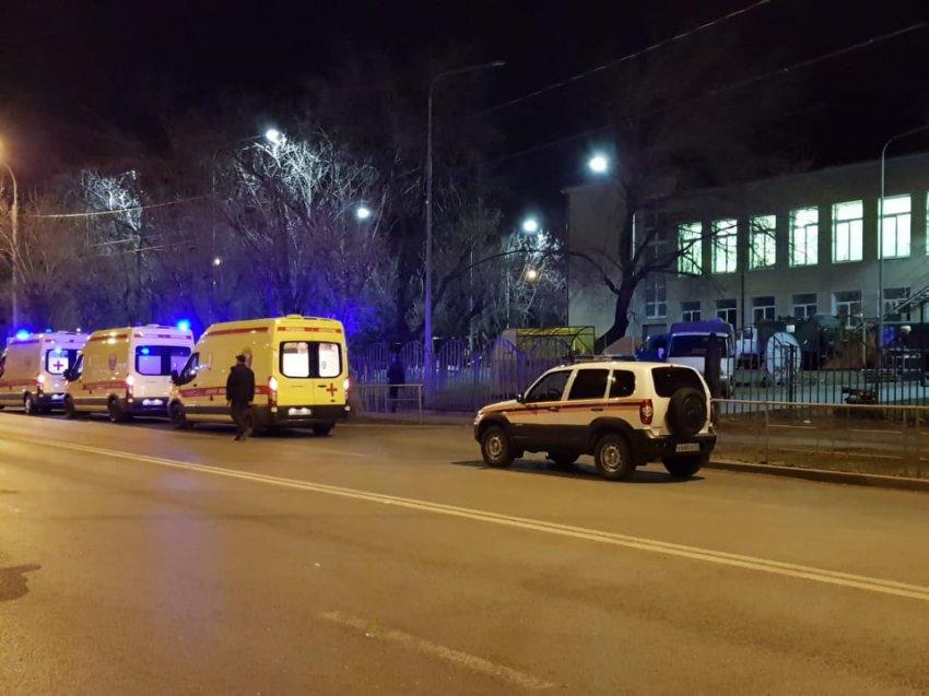 Штурм на границе с Магнитогорской улицей