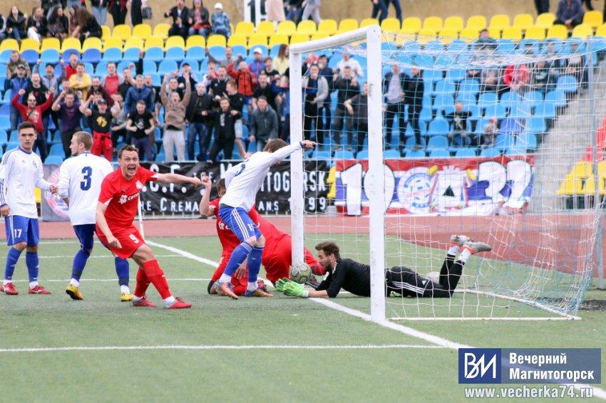 Магнитогорские футболисты победили челябинских!