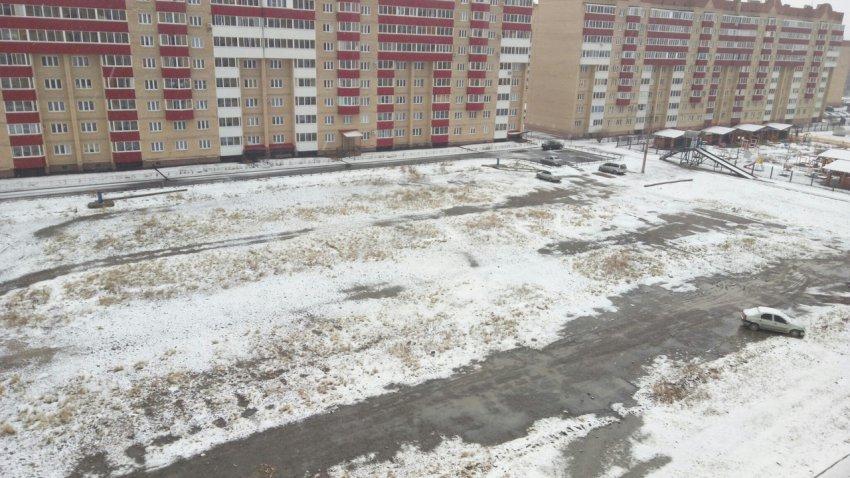 Магнитогорск завалило снегом!