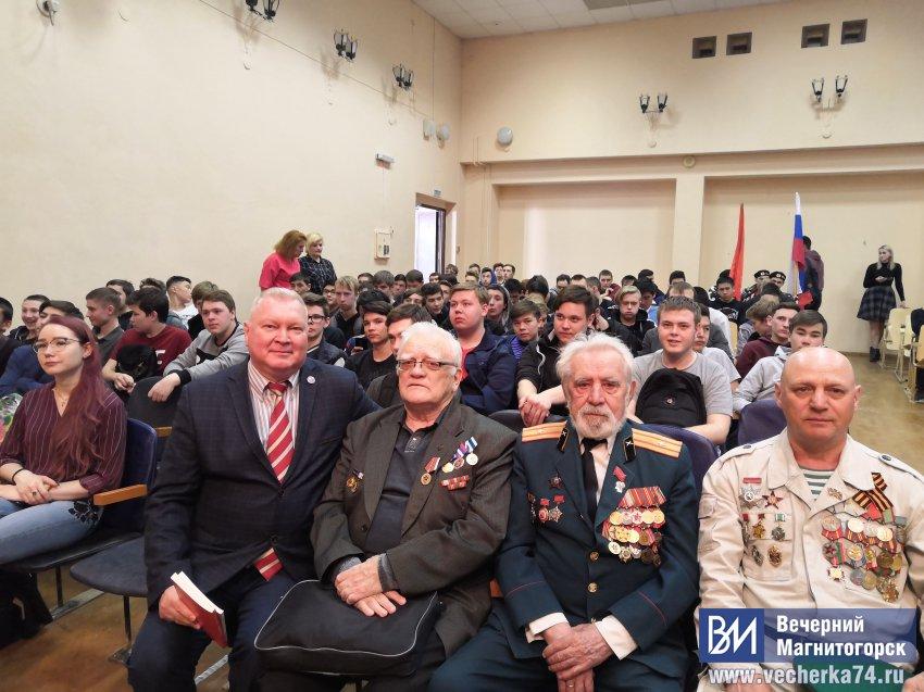 Ветераны рассказали о своих подвигах