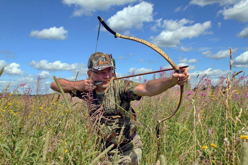 В России может быть разрешена охота с луком и стрелами