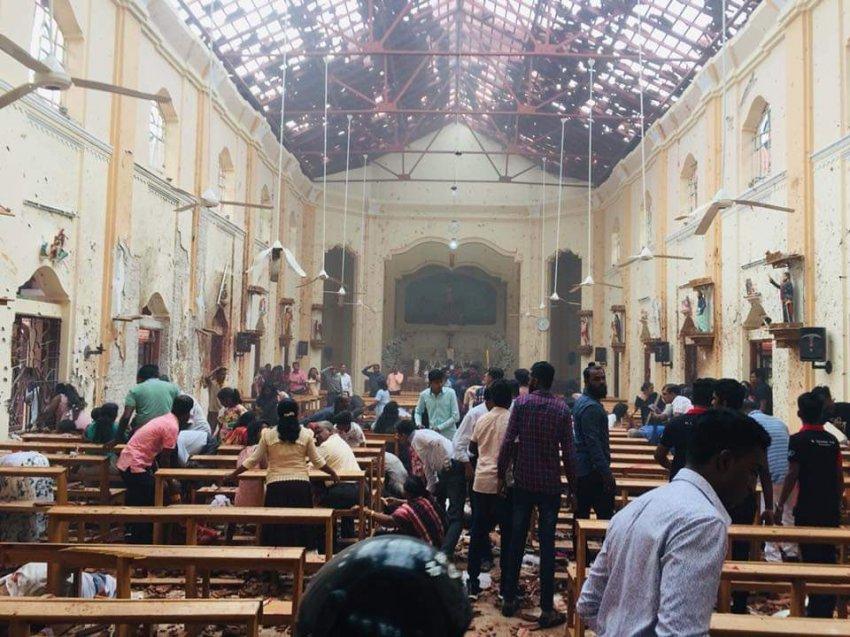 Более 180 человек погибли в результате взрыва на Шри-Ланке