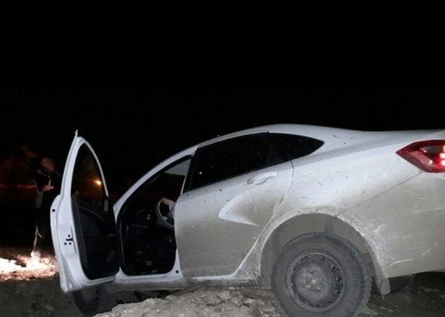 Автоледи улетела в обрыв на своей машине