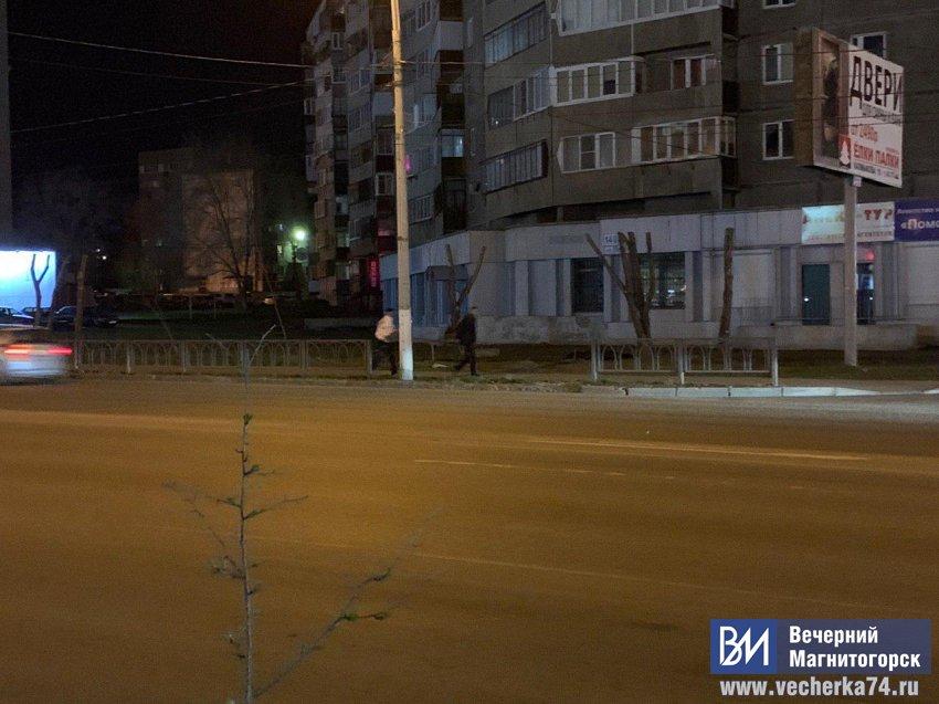 В центре Магнитогорска украли забор!