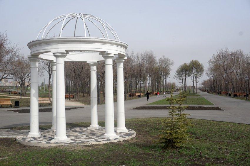 Воскресным утром в парке