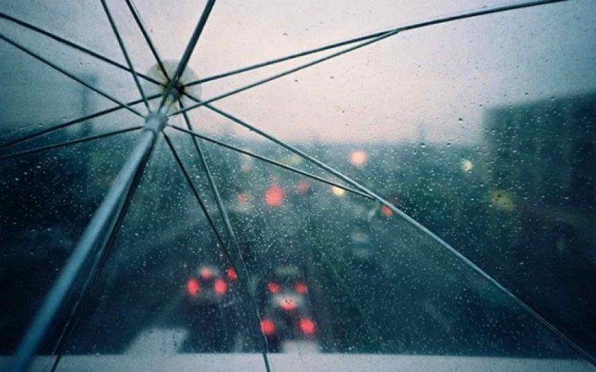 Дождь с грозами