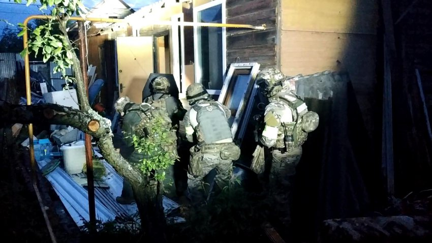 Под Владимиром силовики ликвидировали группу боевиков