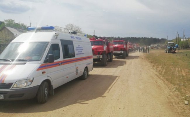 В двух районах Челябинской области введён режим ЧС