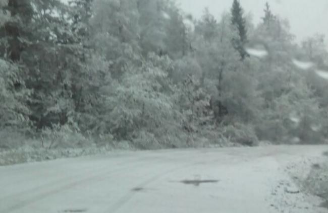 Челябинскую область завалило снегом